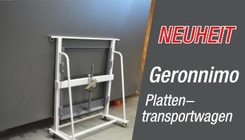 Geronnimo Plattentransportwagen